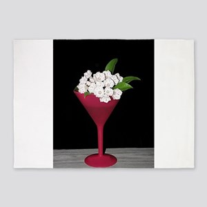 Mountain Laurel Martini 5'x7'Area Rug