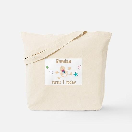 Damian turns 1 today Tote Bag