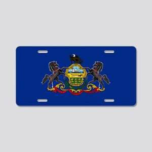 State Flag of Pennsylvania Aluminum License Plate