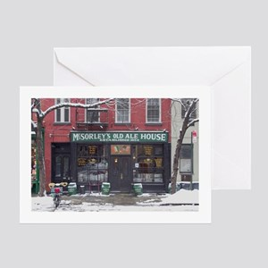 McSorley's on 7th St Greeting Card