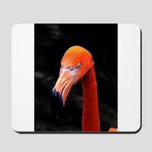 Pretty Red Head Mousepad