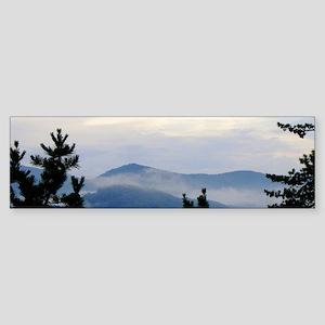 Smoky Mountain Sunrise Bumper Sticker