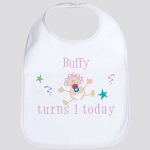 Buffy turns 1 today Bib