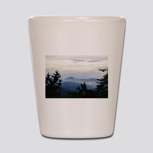 Smoky Mountain Sunrise Shot Glass