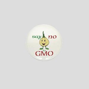 No To GMO Mini Button