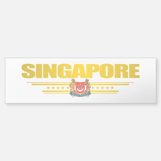 Singapore Bumper Bumper Bumper Sticker