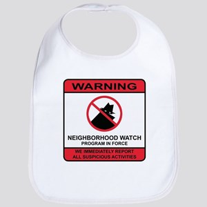 Neighborhood Crime Watch Warning Bib