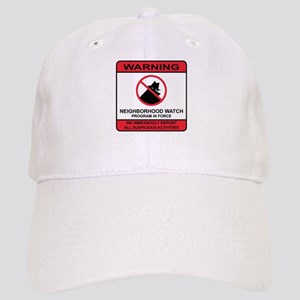 Neighborhood Crime Watch Warning Cap