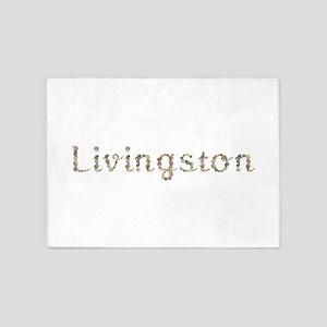 Livingston Seashells 5'x7' Area Rug