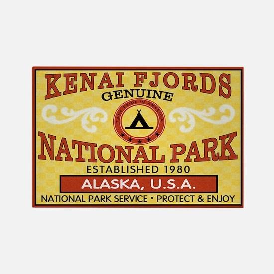 Kenai Fjords NP Rectangle Magnet (100 pack)