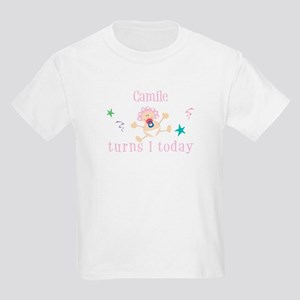 Camile turns 1 today Kids Light T-Shirt