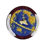 USS HANSON Button