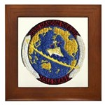 USS HANSON Framed Tile