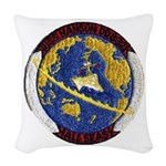 USS HANSON Woven Throw Pillow
