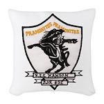 USS HANSON Woven Throw Pillow