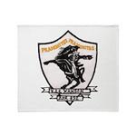USS HANSON Throw Blanket