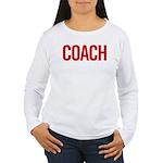 Coach (red) Women's Long Sleeve T-Shirt