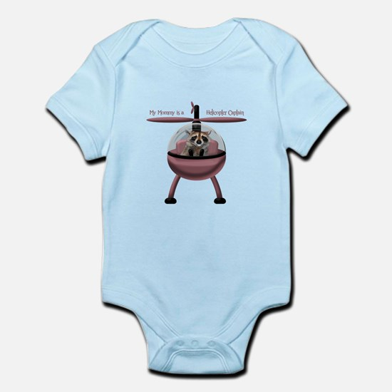 My Mommy, Helicopter Captain Body Suit
