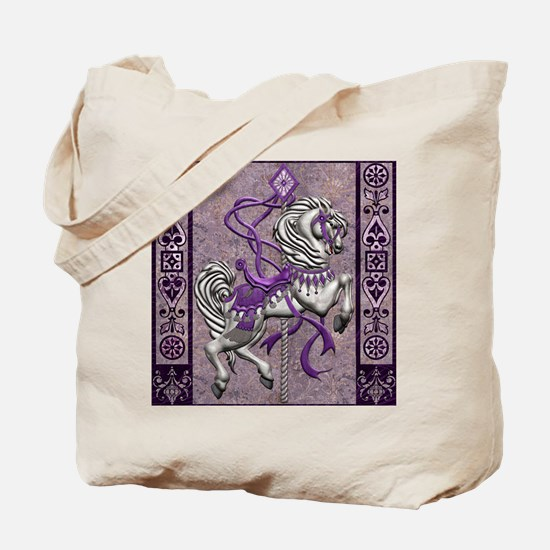Harvest Moons Victorian Carousel Tote Bag