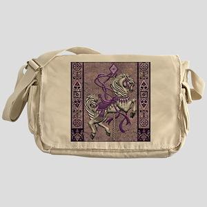 Harvest Moons Victorian Carousel Messenger Bag