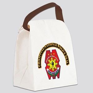 Philippine National Police Seal w Canvas Lunch Bag