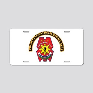 Philippine National Police Aluminum License Plate