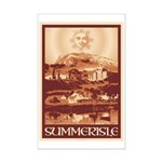 Summerisle Mini Poster Print