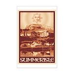Summerisle Mini Poster Print