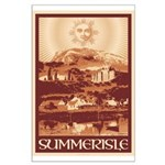 Summerisle Large Poster