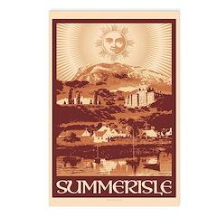 Summerisle Postcards (package Of 8)