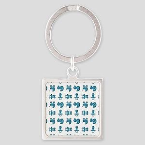 BABY BUDDIES Square Keychain