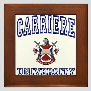 CARRIERE University Framed Tile