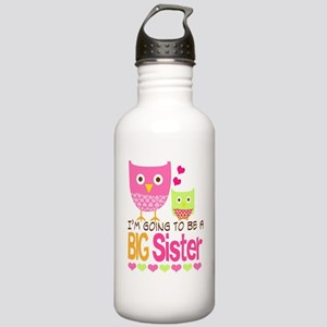 Big Sister Baby Owls I Stainless Water Bottle 1.0L