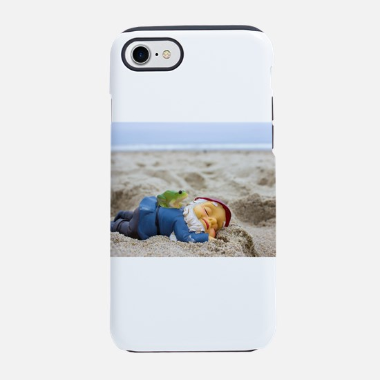 Napping Gnome iPhone 7 Tough Case