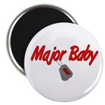 Navy Major Baby Magnet