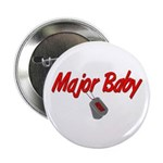 Navy Major Baby Button