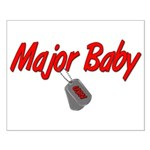 Navy Major Baby Small Poster