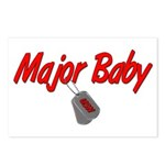 Navy Major Baby Postcards (Package of 8)