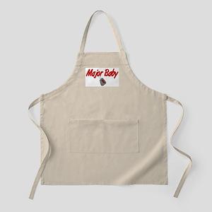 Navy Major Baby BBQ Apron