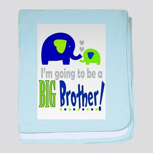 I'm going to be a Big Brother baby blanket