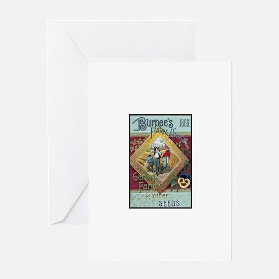 Farm Annual 1886 Greeting Card