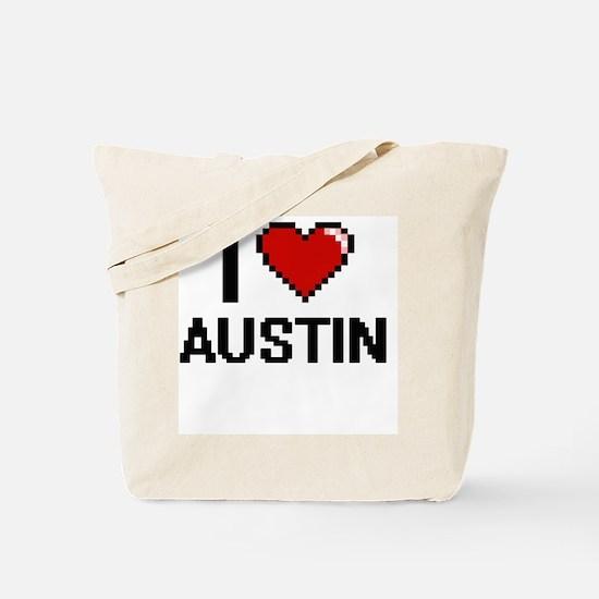 I Love Austin Tote Bag