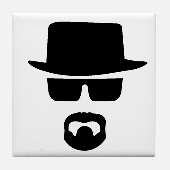 Cute Heisenberg Tile Coaster