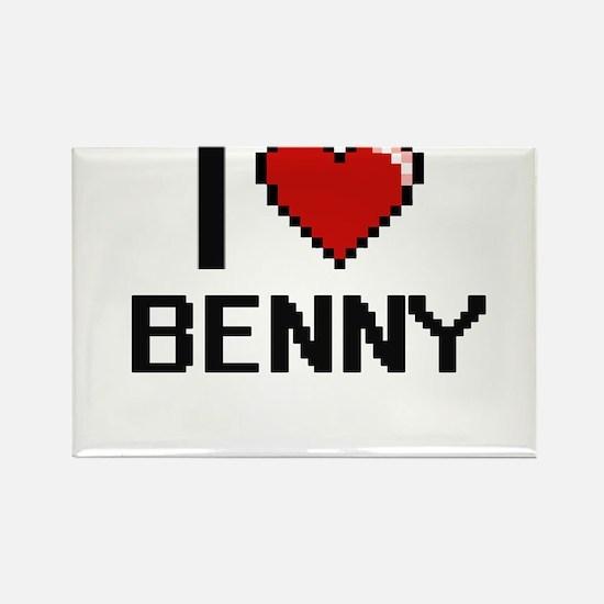 I Love Benny Magnets