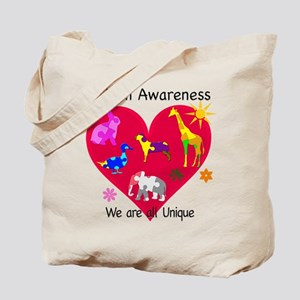 Autism Awareness Animals Tote Bag