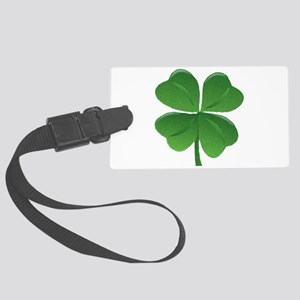 St Patrick Shamrock T Large Luggage Tag