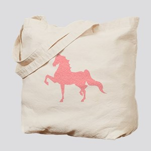 American Saddlebred - Pink pattern Tote Bag