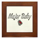 Navy Major Baby ver2 Framed Tile