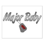 Navy Major Baby ver2 Small Poster