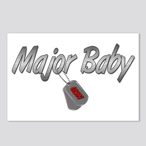 Navy Major Baby ver2 Postcards (Package of 8)